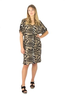 DIVINE DRESS SANDSTONE/BLACK - DIVINE DRESS S