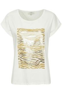 PiaCR T-shirt /svart & guld - PiaCR T-shirt gold M