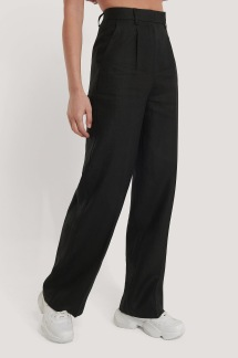 linen wide leg pants - linen wide leg pants 38
