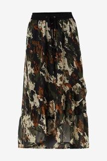 Kadane Skirt Grape Leaf - skirt 34