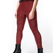 UNITY JEGGINGS BORDEAUX