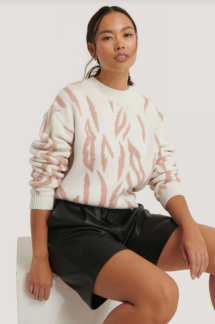 Animal knitted round neck - Animal knitted S