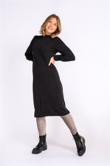 JACKIE DRESS BLACK - JACKIE DRESS BLACK XS