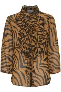 LillySZ 3/4 Shirt zebra skin - LillySZ 3/4 Shirt XS