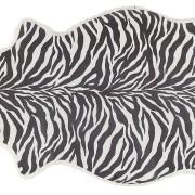 Lisbeth printat fårskinn 1 skinn 100x60cm Zebra