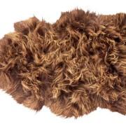 Torshavn långhårigt fårskinn 1 skinn 100x60cm Moro