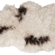 Island långhårigt fårskinn 1 skinn 100x60cm Natur