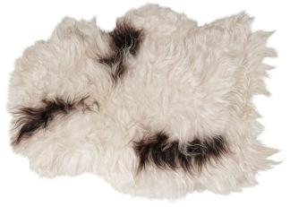 Island långhårigt fårskinn 1 skinn 100x60cm Natur - Island långhårigt