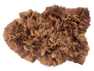 Torshavn långhårigt fårskinn 1 skinn 100x60cm Moro - Torshavn långhårigt