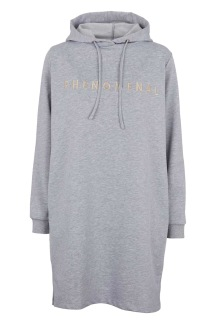Malle Sweat Dress - Grey - Malle Sweat Dress - Grey S