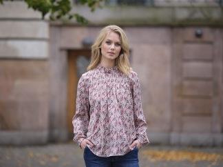 Kayla blouse - Off white - Kayla Bluse S