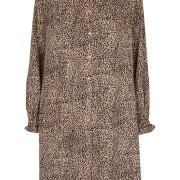 Silje dress - Leopard