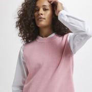 KAmiara Knit Vest rosa / blå