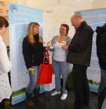 Susanna Nerell representerade Bjärkeföretagens förening på Mötesplats 2014 i Estrad.