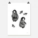 Pingvinungar