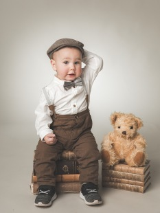 Barnfotograferin i studio