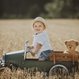 uromhusfotografering med barn