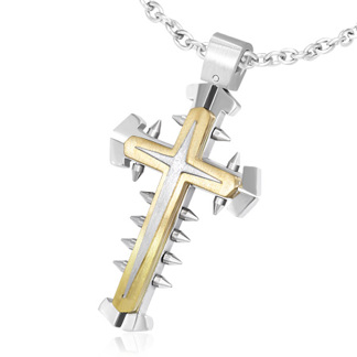 Kors i Rostfritt Stål HNRF3111
