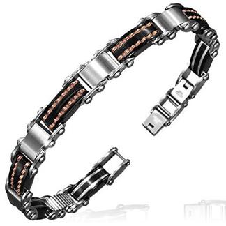 Armband 21 cm* 9 mm Rostfritt Stål ARF3127 - Armband Rostfritt Stål