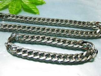 Set Armband + Halsband Rostfritt Stål SRF3109
