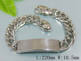 Armband 22 cm*10,5 mm Rostfritt Stål ARF3130