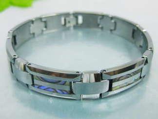 Armband 20,5 cm*10,5 mm Tungsten ATS1105