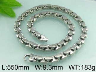 Halsband 55 cm*9,3 mm Rostfritt Stål HRF3100