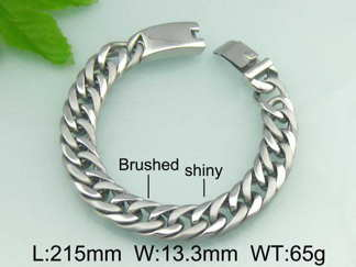 Armband 21,5 cm*13,3 mm Rostfritt Stål ARF3142