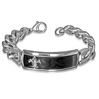 Armband 20,5 cm*16,5 mm Rostfritt Stål ARF3122