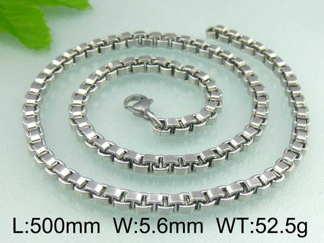 Halsband 50 cm*5,6 mm Rostfritt Stål HRF3101