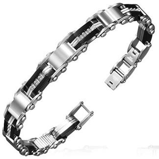 Armband 20 cm*9,5 mm Rostfritt Stål ARF3124