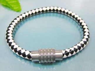 Armband 19,5 cm*6 mm Läder AL4155