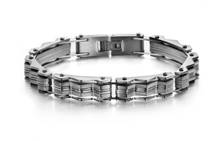 Armband 21 cm*10 mm Rostfritt Stål ARF3103