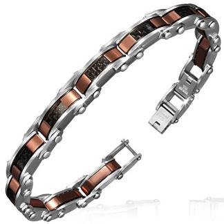Armband 20 cm*9,5 mm Rostfritt Stål ARF3126