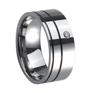 Ring Tungsten RTS1112 - Ring Tungsten US size 8