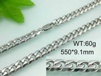Halsband 55 cm*9,1 mm Rostfritt Stål HRF3108