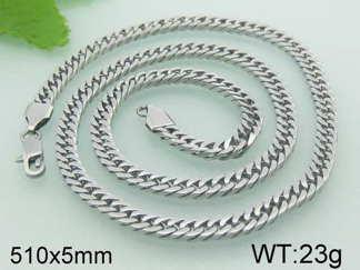 Halsband 51 cm*5 mm Rostfritt Stål HRF3105
