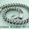 Set Armband + Halsband Rostfritt Stål SRF3112