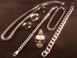 Halsband, Ringar, Armband och Hänge