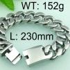 Armband 23 cm*20 mm Rostfritt Stål ARF3157