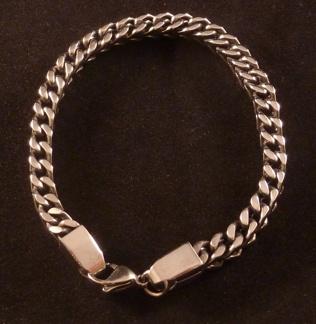 Armband 21 cm*6 mm Rostfritt Stål ARF3153