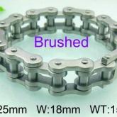 Armband 23 cm*18 mm Rostfritt Stål ARF3167