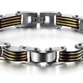 Armband 22,5 cm*11 mm Rostfritt Stål ARF3102
