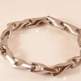 Armband 20,5 cm*7,8 mm Tungsten ATS1101