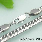 Halsband 54 cm*7,5 mm Rostfritt Stål HRF3107