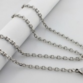 Halsband 60 cm*3,5 mm Rostfritt Stål HRF3103
