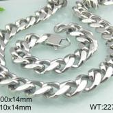 Set Armband + Halsband Rostfritt Stål SRF3111