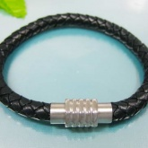 Armband 20 cm*6 mm Läder AL4156