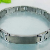 Armband 21 cm*9,4 mm Tungsten ATS1104