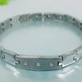 Armband 19,5 cm*7,8 mm Tungsten ATS1100